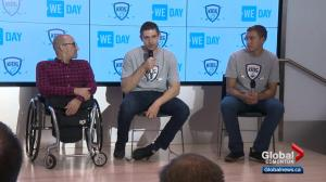 Edmonton Oilers' Leon Draisaitl makes 8-year donation to We Day & local hockey programs