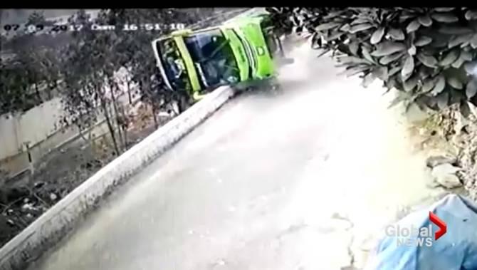 Lima Tour Bus Accident