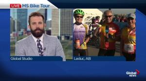 Mike Sobel: MS Bike Tour 2018