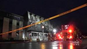 One taken to Toronto hospital following Hunter Street blaze