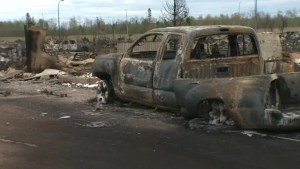 Aftermath images of the devastation of the Fort McMurray wildfire