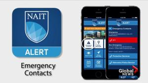 NAIT launches app with virtual safe walk feature