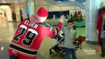 Calgary Hitmen hand deliver Christmas joy to kids in hospital