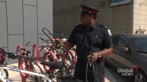 Toronto police offer tips on how to protect your bike