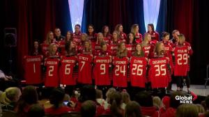 Team Canada's women's Olympic hockey team is announced