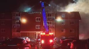 Regina apartment complex destroyed by fire