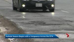 Toronto's pothole problem