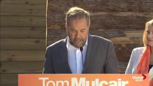 Mulcair says recent market falls only part of Stephen Harper's troubled economic record