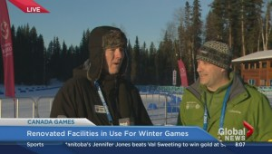 Renovated facilities in use for Winter Games