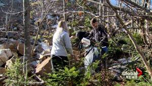 Halifax residents left to deal with construction debris, trash littering walking trail