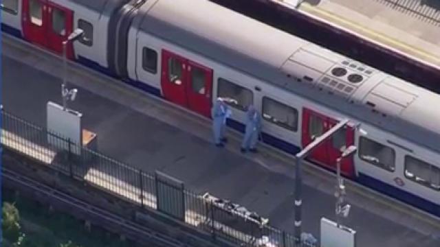 Tube Train Blast In London