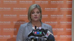 Andrea Horwath says NDP will hold Premier-designate Doug Ford accountable