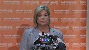Andrea Horwath says NDP will hold Premier-designate Doug Ford accountable (00:51)