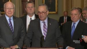 Chuck Schumer urging Trump to sign bi-partisan deal to avert government shutdown