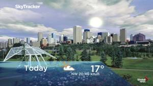 Edmonton early morning weather forecast: Friday, August 9, 2019