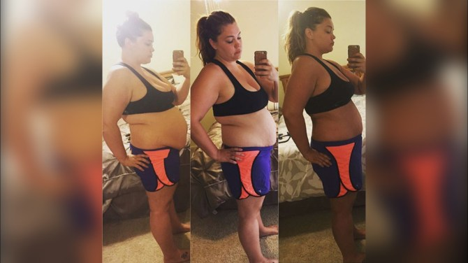 How Justine McCabe overcame grief to lose 124 pounds in one year