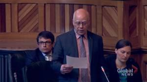 David Coon tries and fails at declaring emergency debate on Glyphosate as N.B. Legislature rises