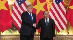 President Trump shakes hands with Vietnamese Prime Minister Nguyen Xuan Phuc in Hanoi