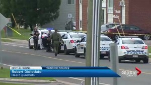 Fredericton resident describes hearing gunshots, direction from police during shooting