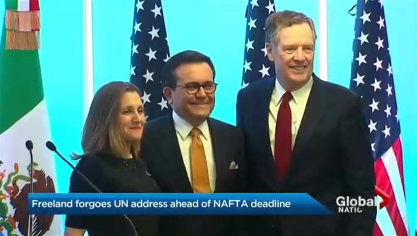 U.S. And Canada Reach Deal To Replace NAFTA