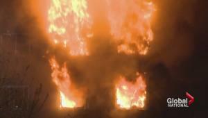 Apartment fire near Montreal kills 3