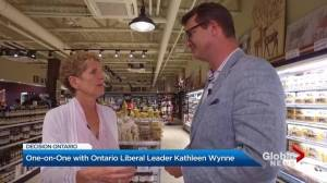 Focus Ontario election special: One-on-One with Kathleen Wynne (08:24)