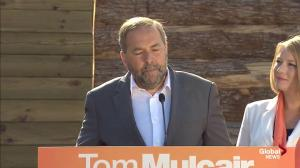 Mulcair slams Harper: 'Hell, he can't even deliver the mail!'