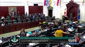 Alberta legislators in marathon debate over workplace rules