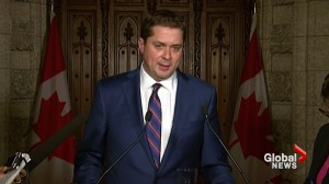 Andrew Scheer calls Bill 62 a 'provincial issue', won't pursue federally