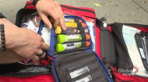 Montreal first-responders given naloxone kits