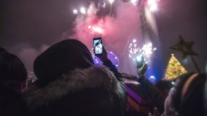 Toronto rings in the New Year with a spectacular fireworks display