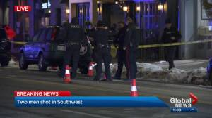 2 men injured after southwest Calgary shooting