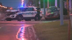 Crash involving Regina police cruiser sends 2 to hospital