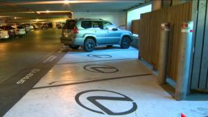 Calgary airport disabled parking swapped for Lexus-only stalls
