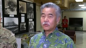 Hawaii governor says false alarm because 'employee pushed the wrong button' during shift change