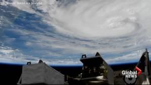 ISS captures breathtaking orbital view of Hurricane Harvey