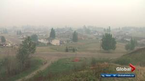 10,000 people forced out, 15 homes destroyed by Alberta wildfires