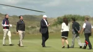 Document show Trump golf course damaged sand dunes in Scotland