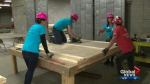2019 Habitat for Humanity Women Build underway in Edmonton