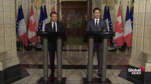 Trudeau, Macron plan to charm Trump at G7 with politeness