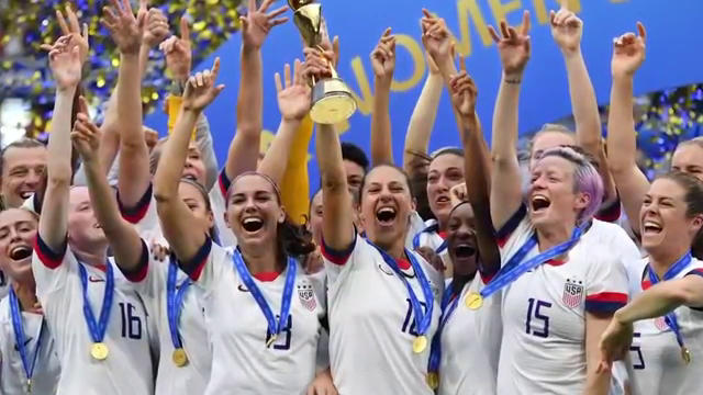 NYC hosts ticker tape parade for United States  women's soccer champs
