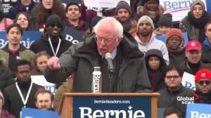 Bernie Sanders calls Trump 'most dangerous president in modern American history'