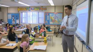 Students learn about thunderstorms at SkyTracker weather school