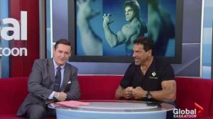 Lou Ferrigno appearing at Saskatoon Expo