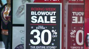 Shoppers look for Boxing Day sales in Dartmouth