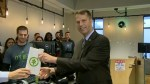 Mayor in Massachusetts makes first purchase in pot shop as Massachusetts allows recreational marijuana