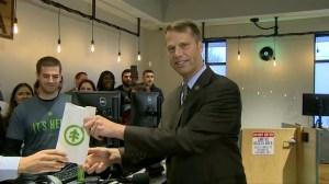 Mayor in Massachusetts makes first purchase in pot shop as Massachusetts allows recreational marijuana