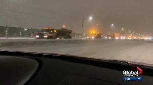 How Edmonton crews handled the heavy snowfall