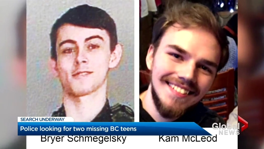 RCMP seeking missing teens after vehicle fire and body found