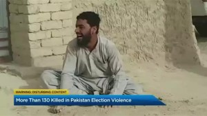 More than 130 killed in Pakistan election violence